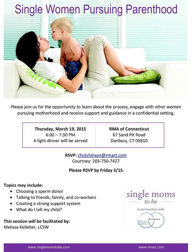 Single Women Pursuing Parenthood Event