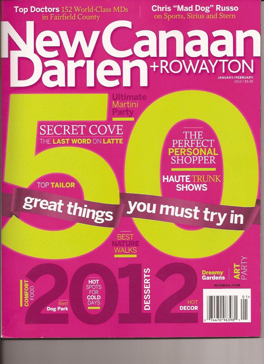 Darien Fertility Doctor New Canaan Rowayton Top Doctor Award 2012