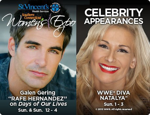 CT Womens Expo Celebrities