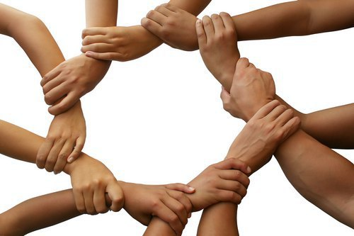 holding hands for infertility support