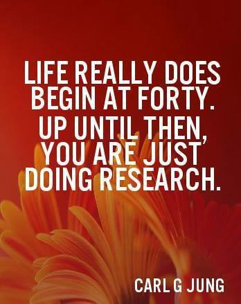 life begins at 40, carl jung quote