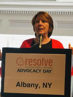 Barbara Collura- Resolve: The National Infertility Association