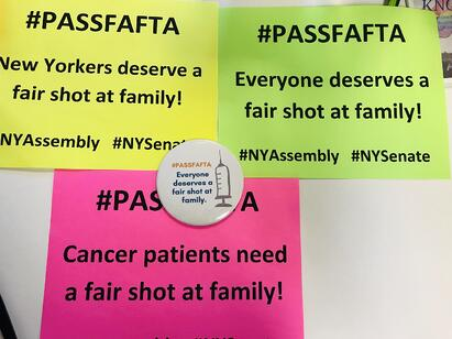 New York Advocacy Day- #PassFAFTA- Fair Access for Fertility Treatment Act