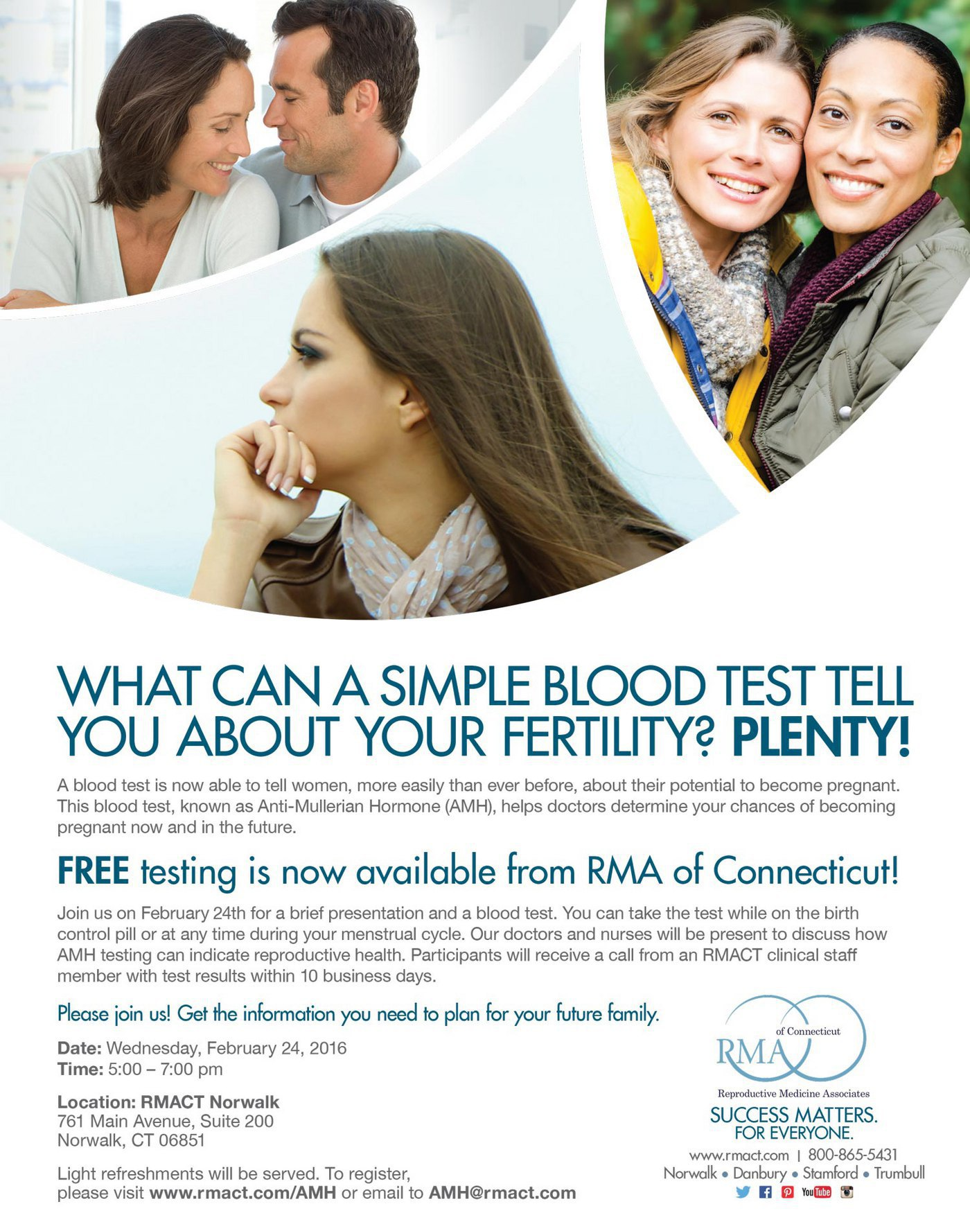 AMH Testing | Norwalk CT