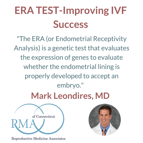 ERA Test Explained by Dr. Mark Leondires