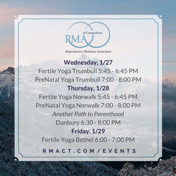 Fertility Events at RMACT