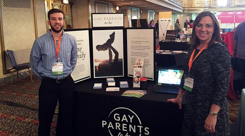 GayParentsToBe Team at Chicago Conference