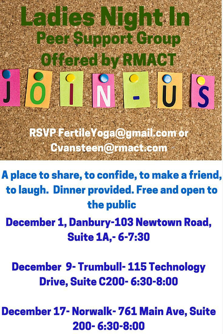 Infertility Support Ladies Night In